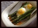 Breakfast Asparagus with Parmesan