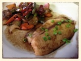 Balsamic Maple Glazed Tilapia